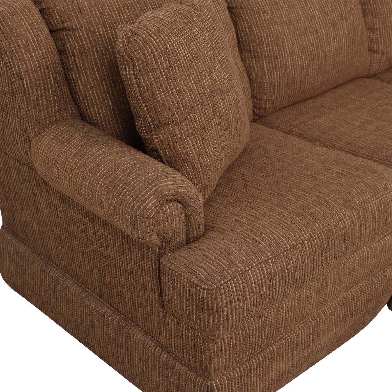buy Klaussner Three Cushion Sofa Klaussner