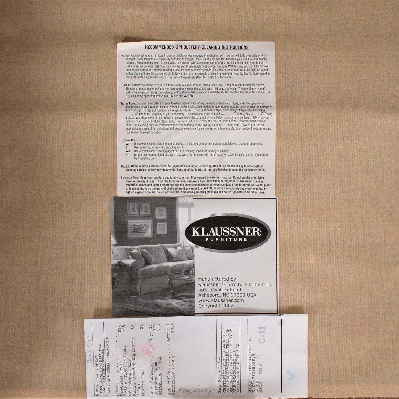 buy Klaussner Klaussner Three Cushion Sofa online