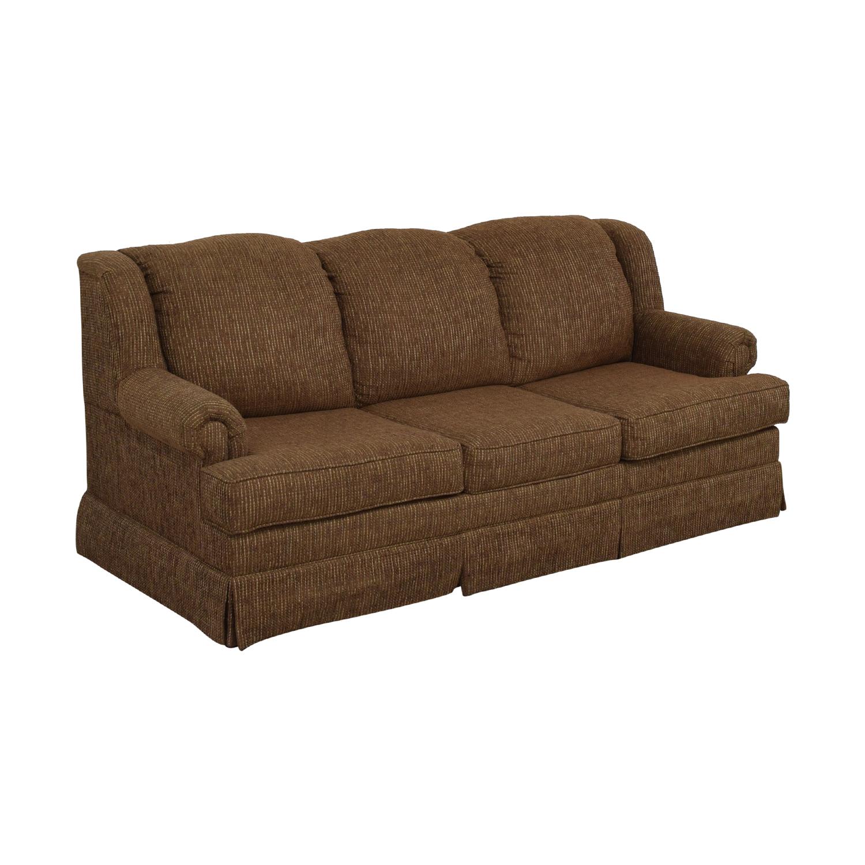 Klaussner Klaussner Three Cushion Sofa dimensions