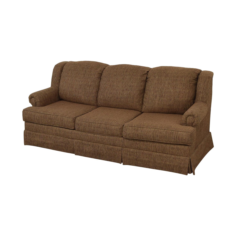 Klaussner Klaussner Three Cushion Sofa brown