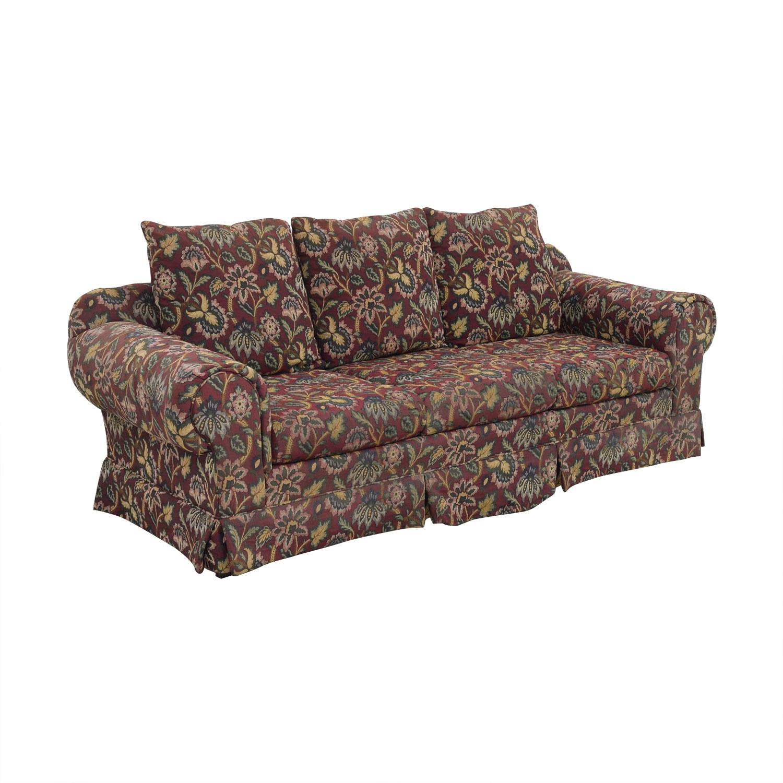 Huffman Koos Traditional Roll Arm Sofa / Sofas
