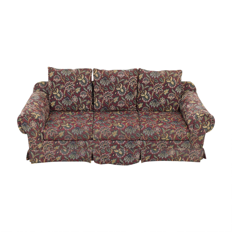 shop Huffman Koos Huffman Koos Traditional Roll Arm Sofa online