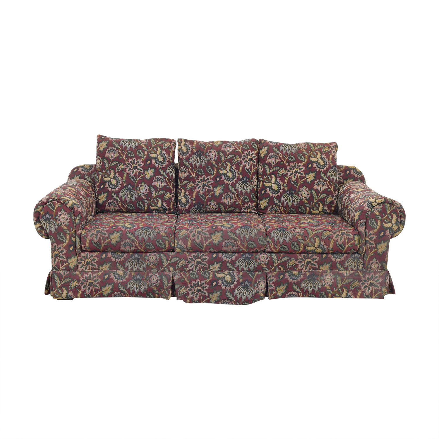 buy Huffman Koos Huffman Koos Traditional Roll Arm Sofa online