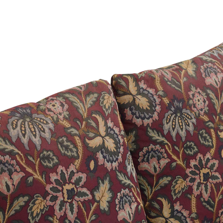 Huffman Koos Huffman Koos Traditional Roll Arm Sofa for sale