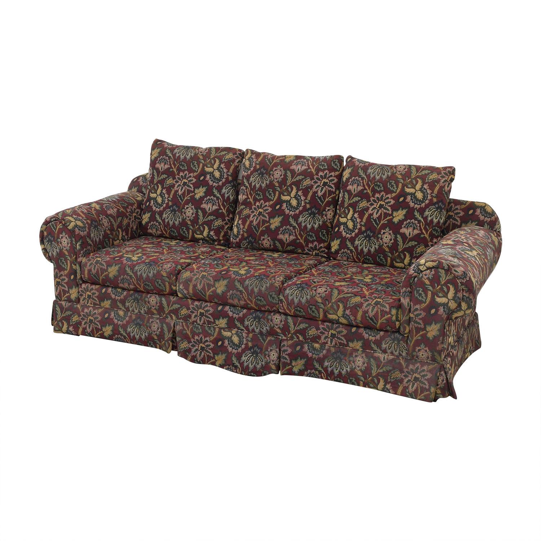 Huffman Koos Huffman Koos Traditional Roll Arm Sofa discount