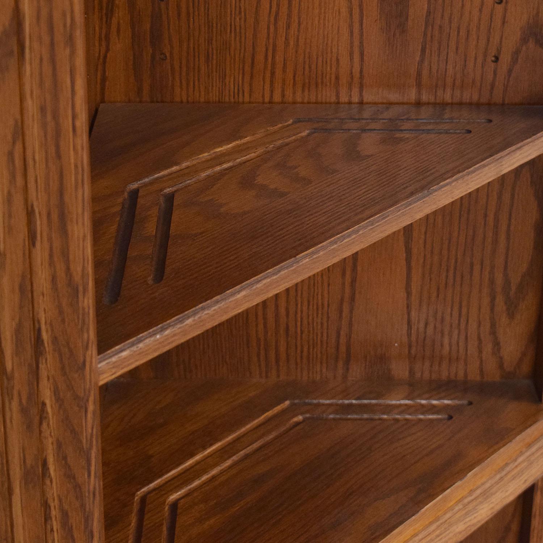 Ethan Allen Ethan Allen Corner Bookcase Bookcases & Shelving