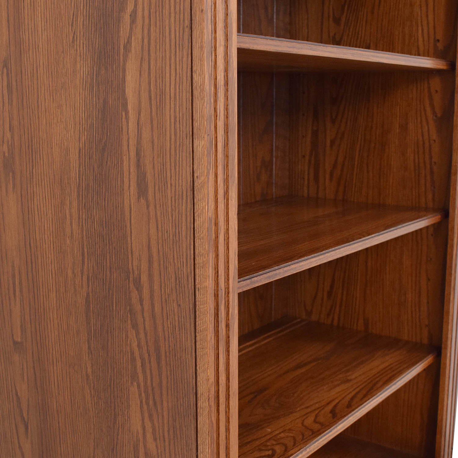 Ethan Allen Georgian Court Open Bookcase with Drawers