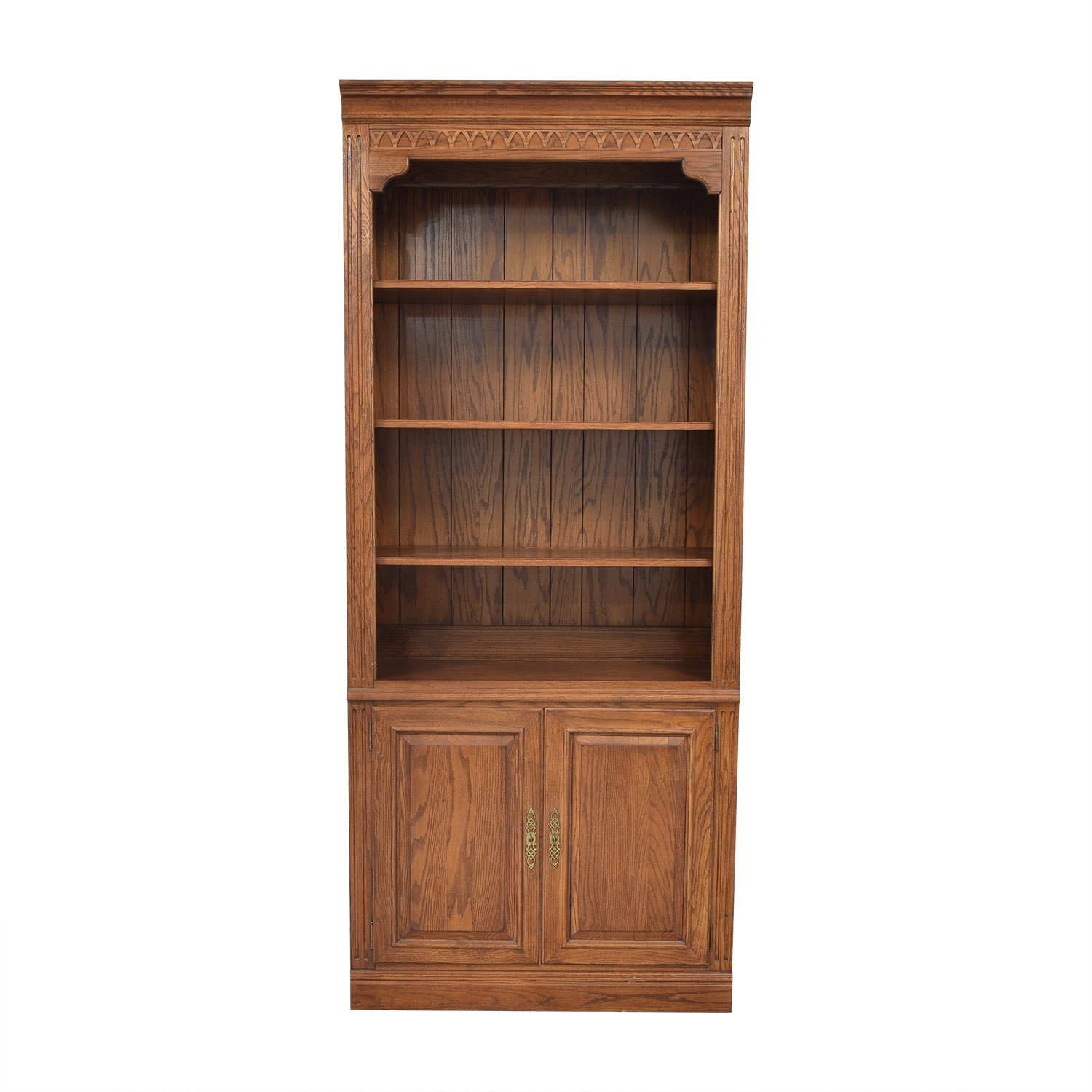 buy Ethan Allen Two Door Bookcase Ethan Allen Bookcases & Shelving