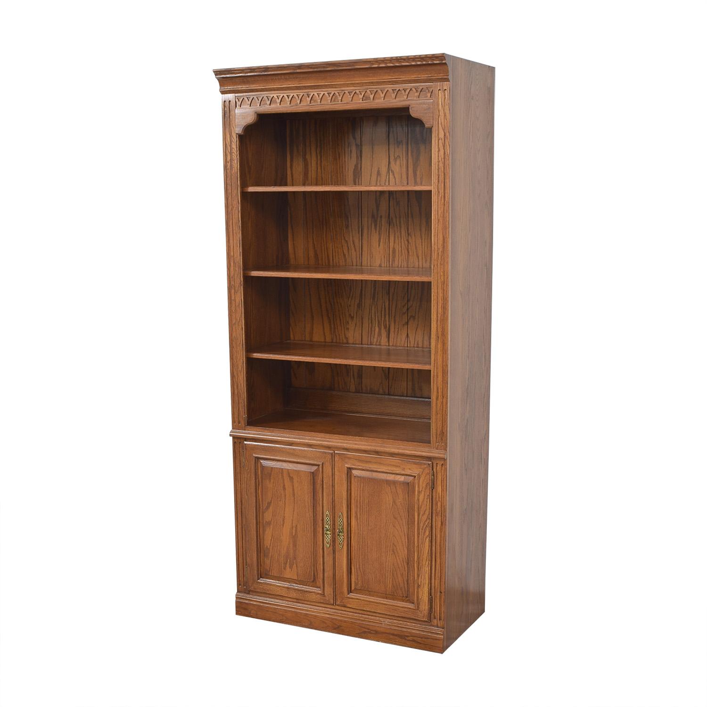 Ethan Allen Ethan Allen Two Door Bookcase ma