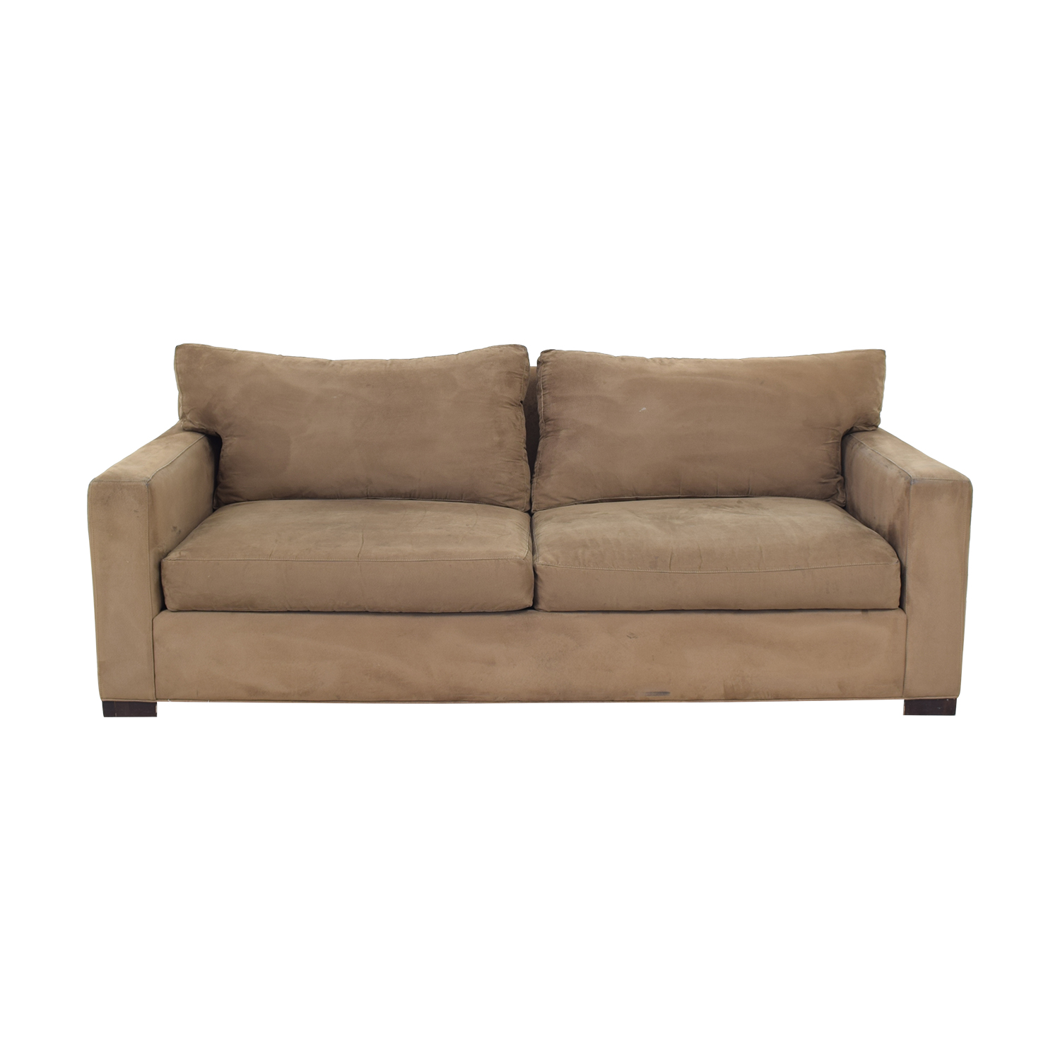 Crate & Barrel Crate & Barrel Axis 2-Seat Sofa brown
