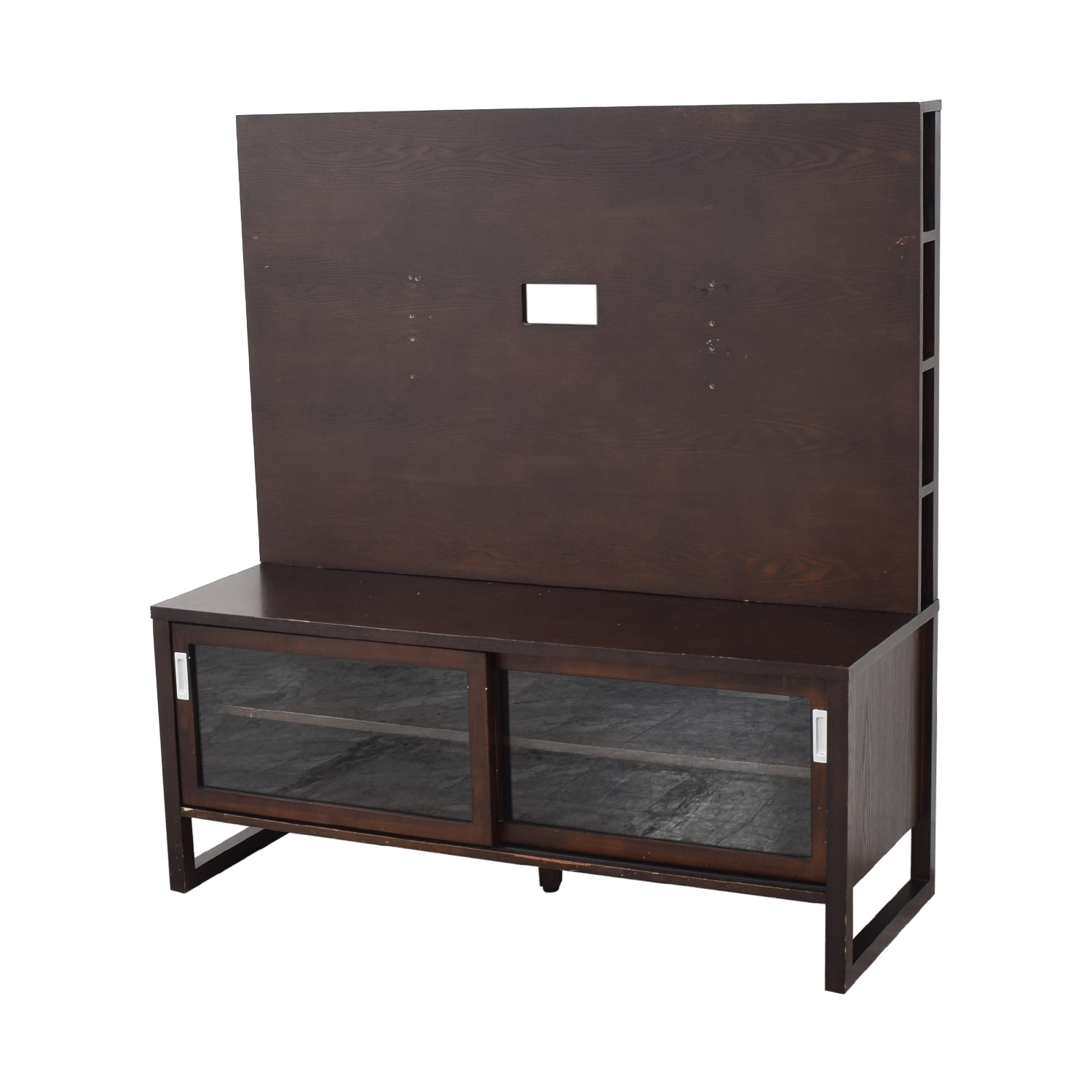 Crate & Barrel Crate & Barrel Entertainment Console with Back Panel