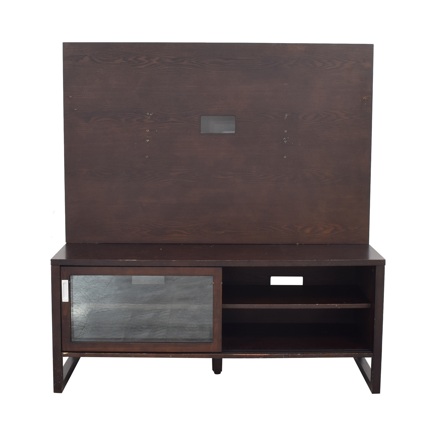 Crate & Barrel Entertainment Console with Back Panel sale