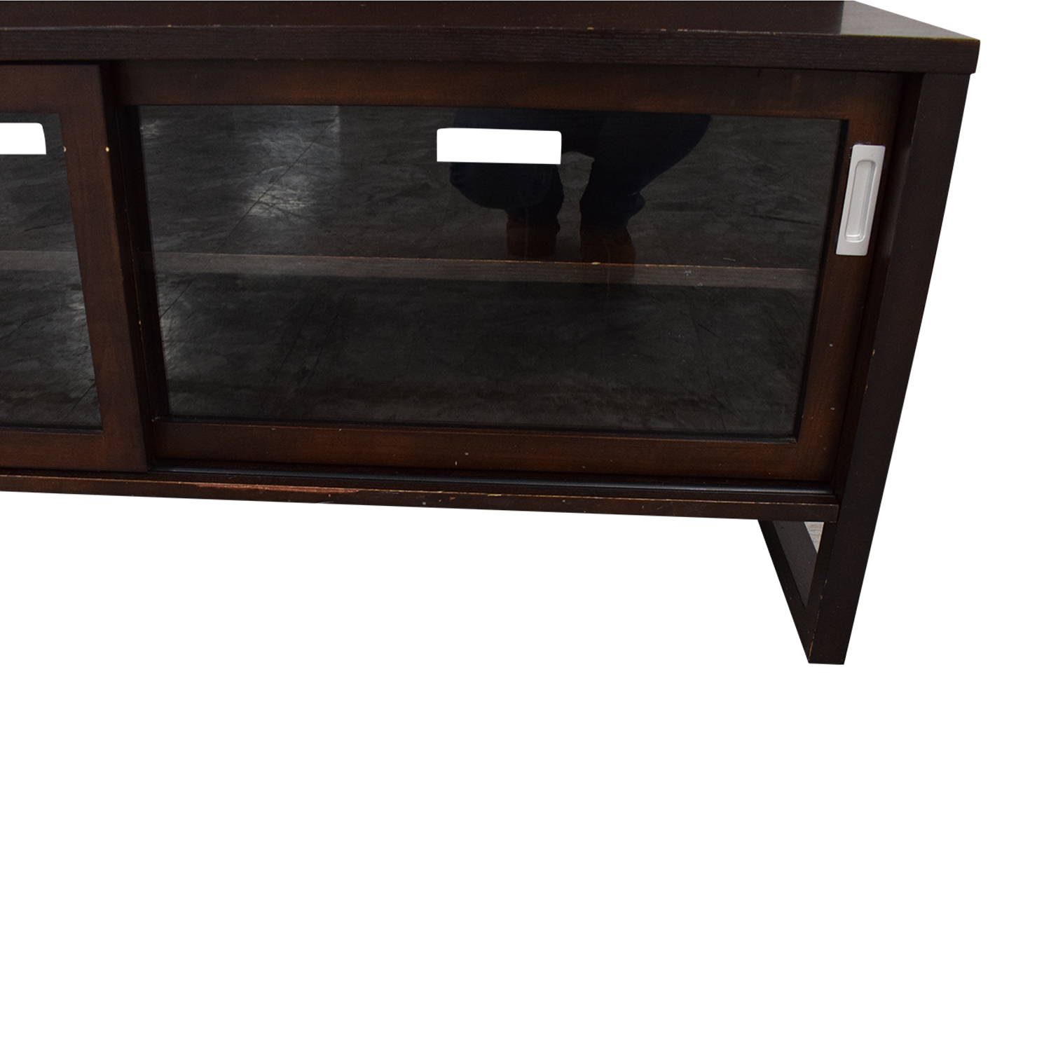 Crate & Barrel Crate & Barrel Entertainment Console with Back Panel Media Units