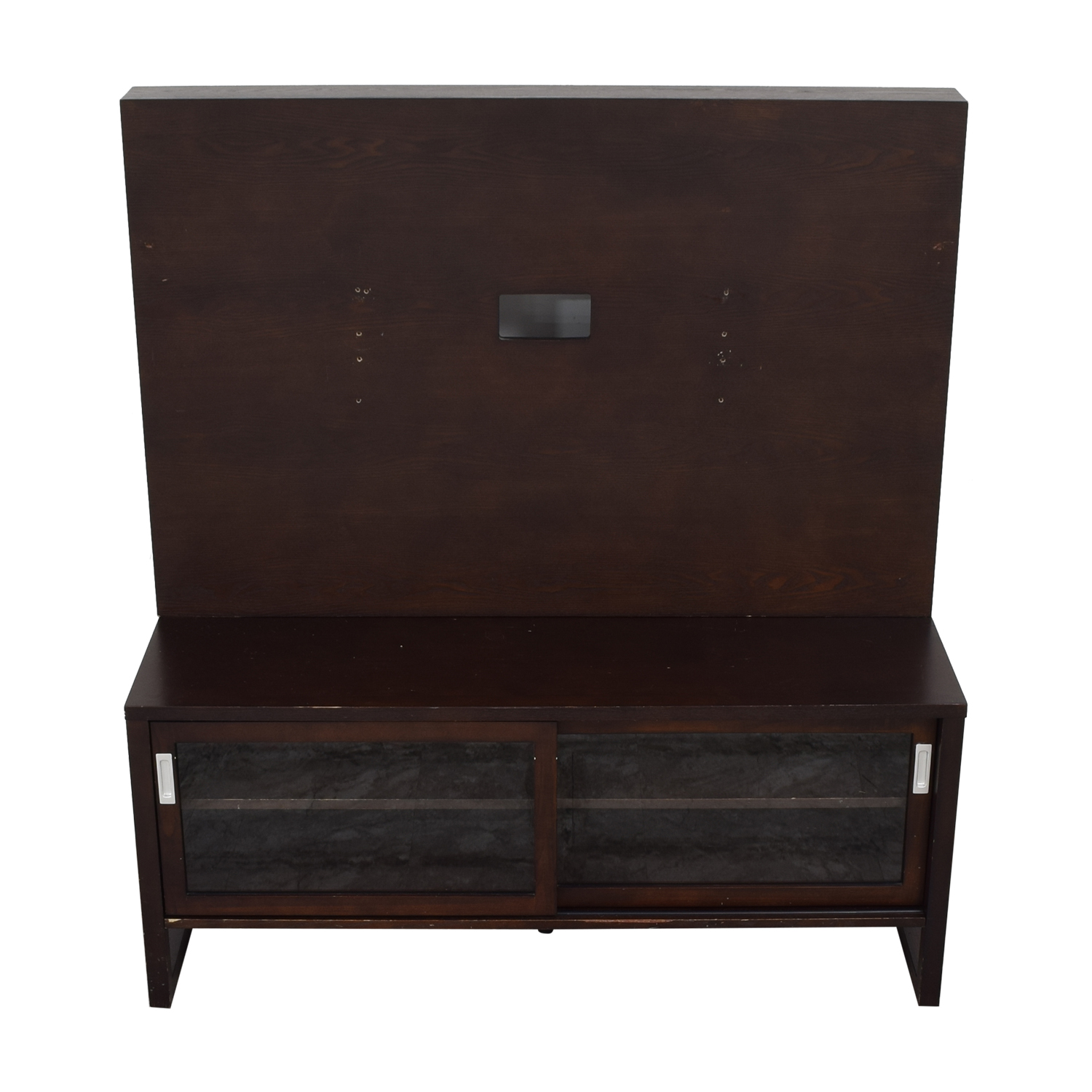 Crate & Barrel Crate & Barrel Entertainment Console with Back Panel pa