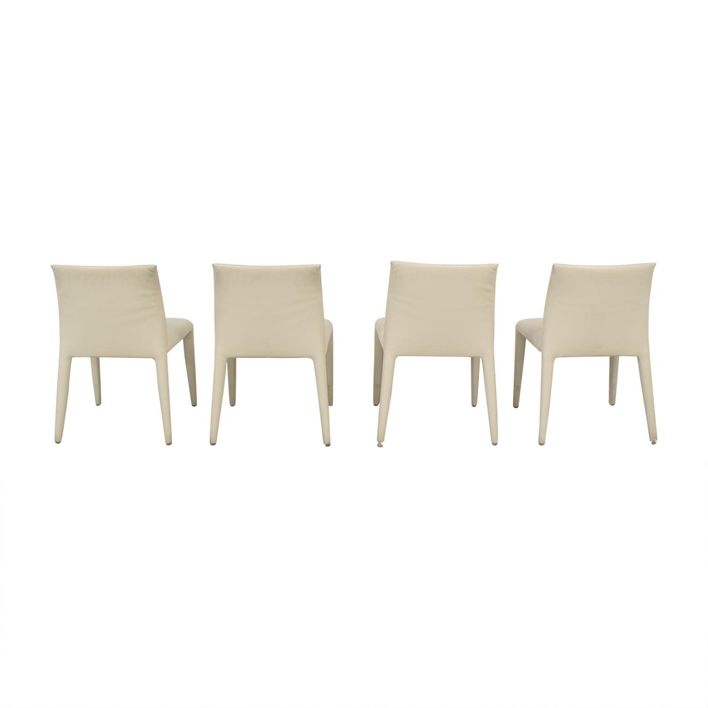 shop B&B Italia Mario Bellini Vol Au Vent Dining Chairs B&B Italia Dining Chairs