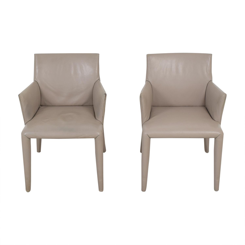 B&B Italia Mario Bellini Vol Au Vent Dining Arm Chairs nyc