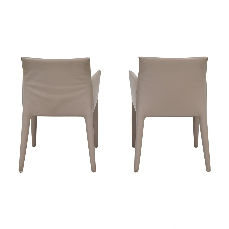 B&B Italia Mario Bellini Vol Au Vent Dining Arm Chairs Dining Chairs