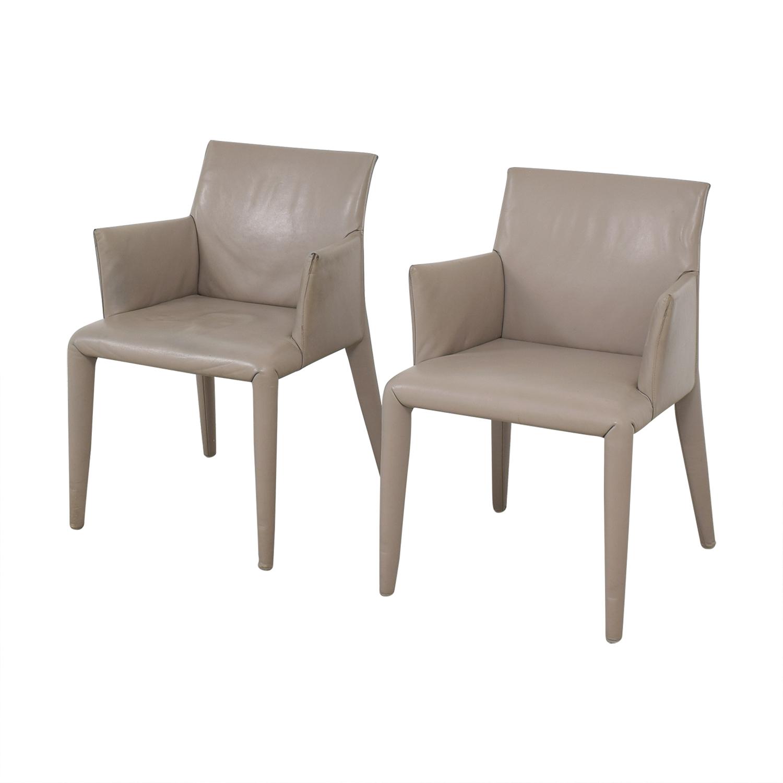 buy Mario Bellini Vol Au Vent Dining Arm Chairs B&B Italia