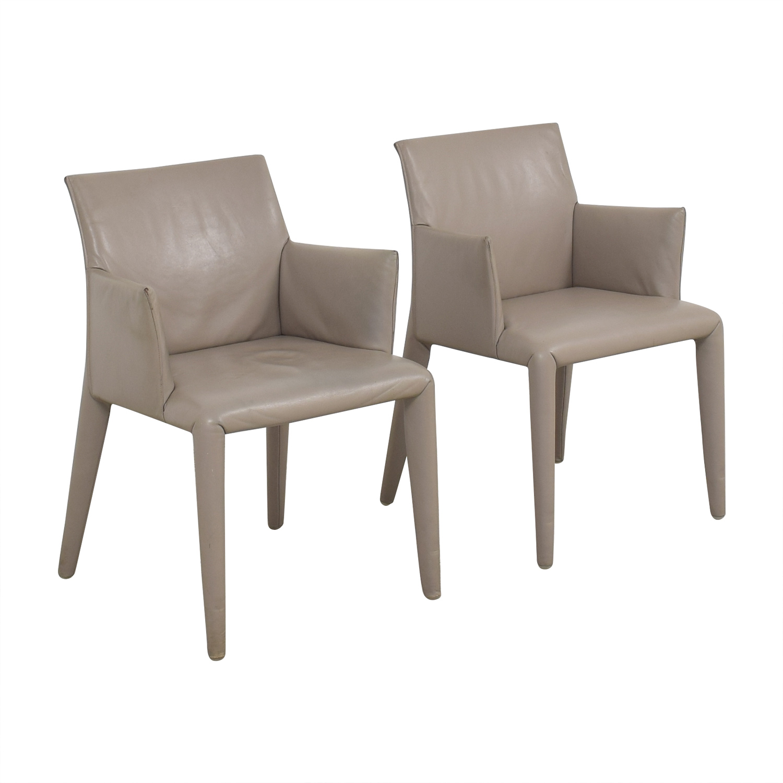 B&B Italia Mario Bellini Vol Au Vent Dining Arm Chairs on sale