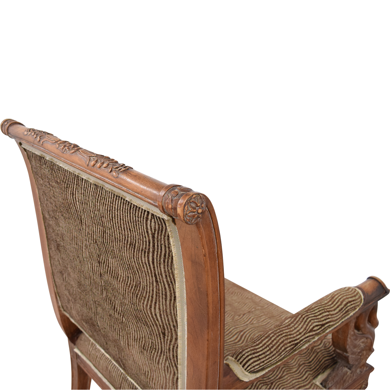shop Bassett Furniture Upholstered Accent Chair Bassett Furniture Dining Chairs