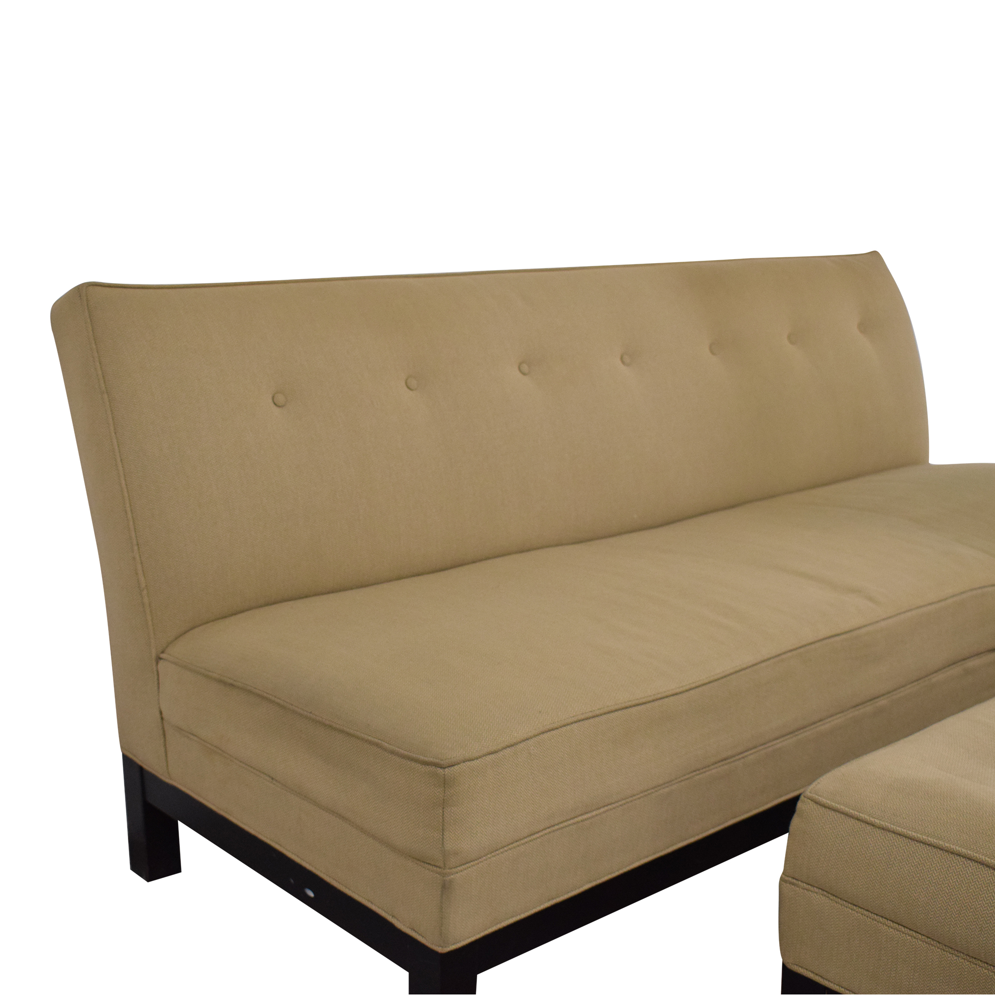 buy Restoration Hardware by Mitchell Gold Sofa and Ottoman Restoration Hardware Classic Sofas