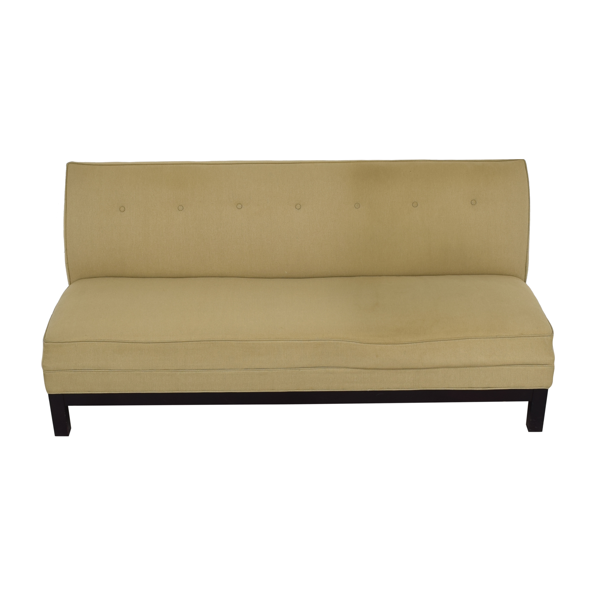 Restoration Hardware Restoration Hardware by Mitchell Gold Sofa and Ottoman beige