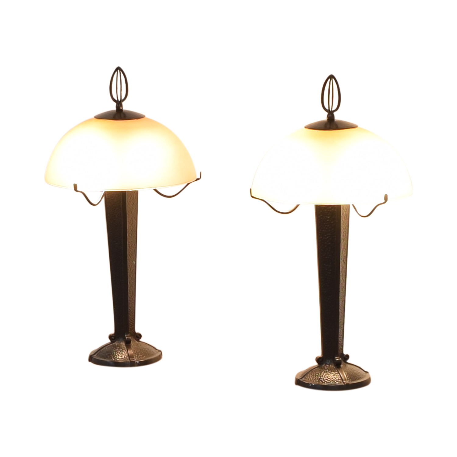 Restoration Hardware Restoration Hardware Craftsman Style Table Lamps ct