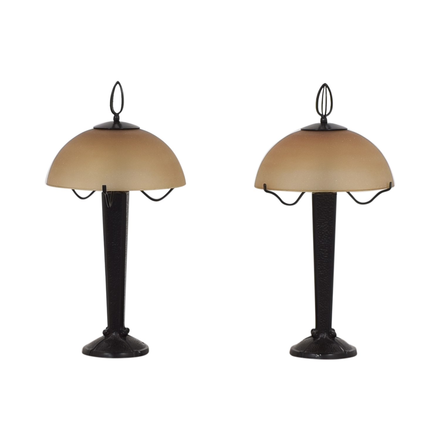 Restoration Hardware Restoration Hardware Craftsman Style Table Lamps for sale