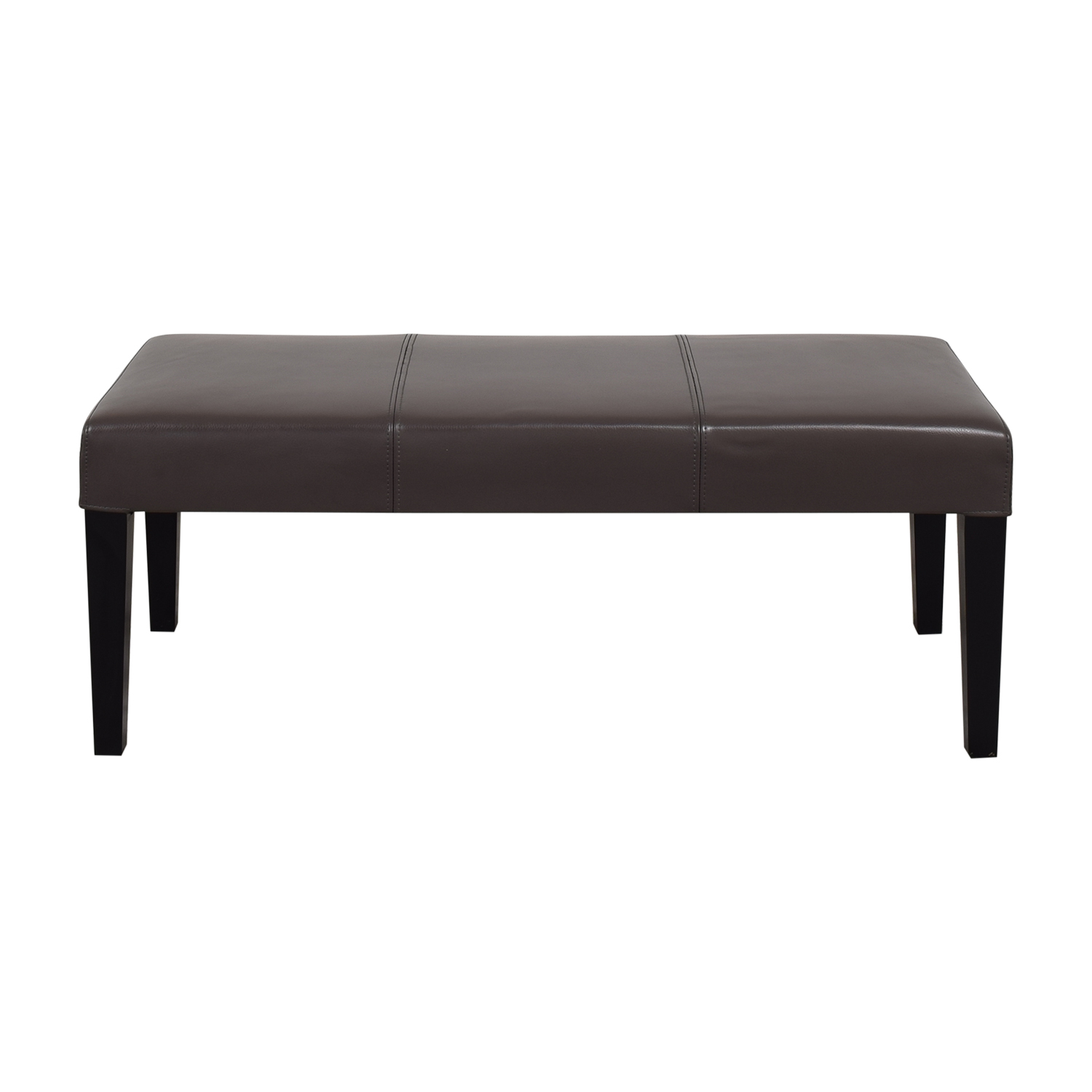 Crate & Barrel Lowe Backless Bench Crate & Barrel