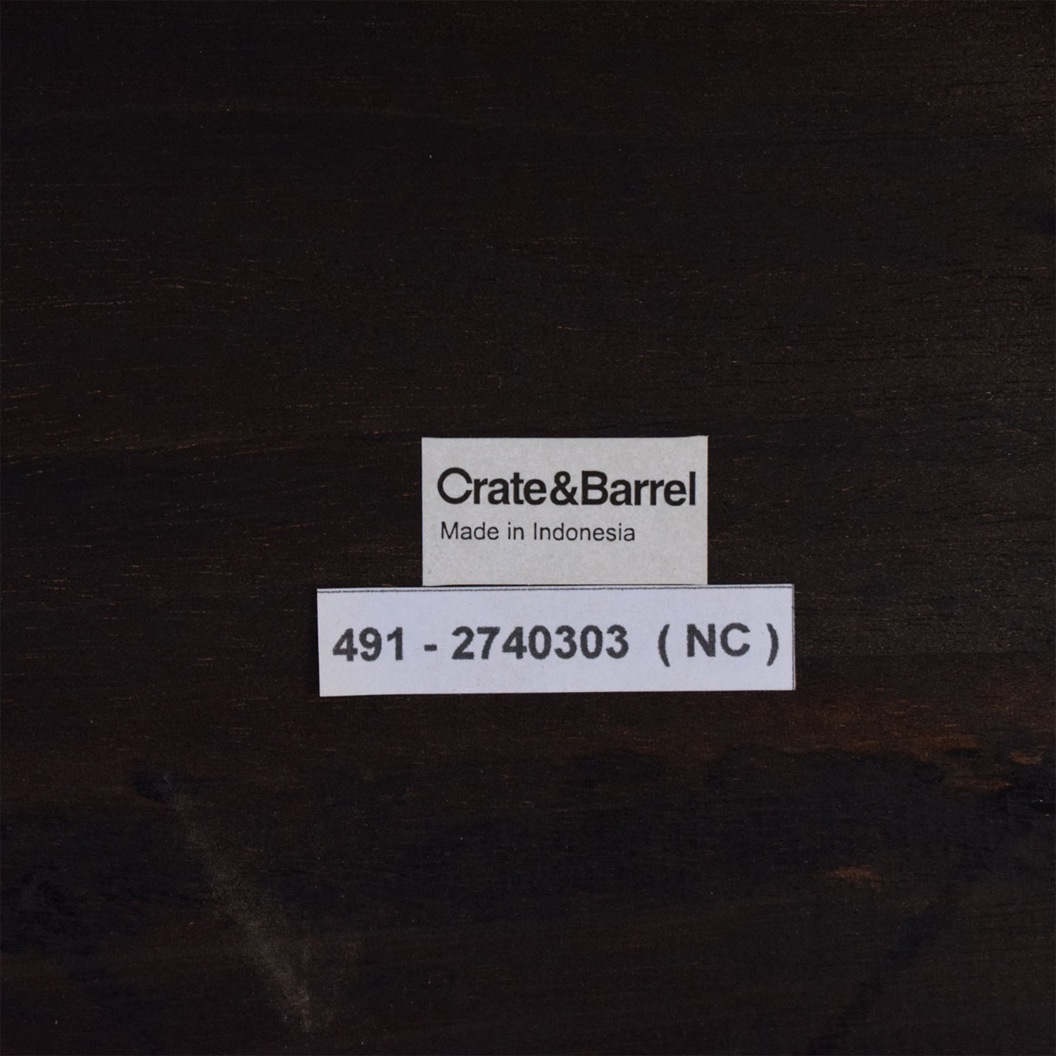 Crate & Barrel Dining Side Chairs sale