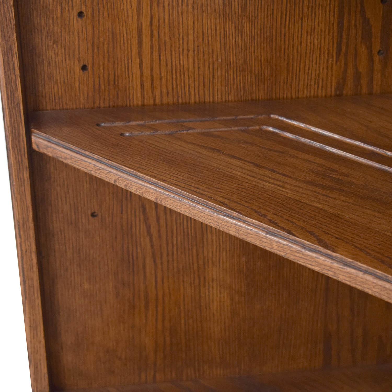 Ethan Allen Corner Bookcase / Bookcases & Shelving