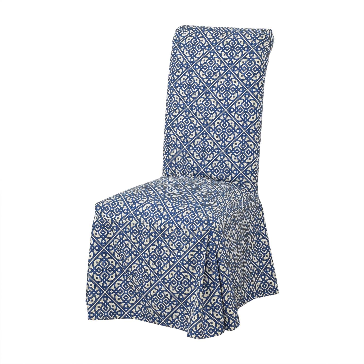 Parsons Custom Slipcovered Dining Chairs price