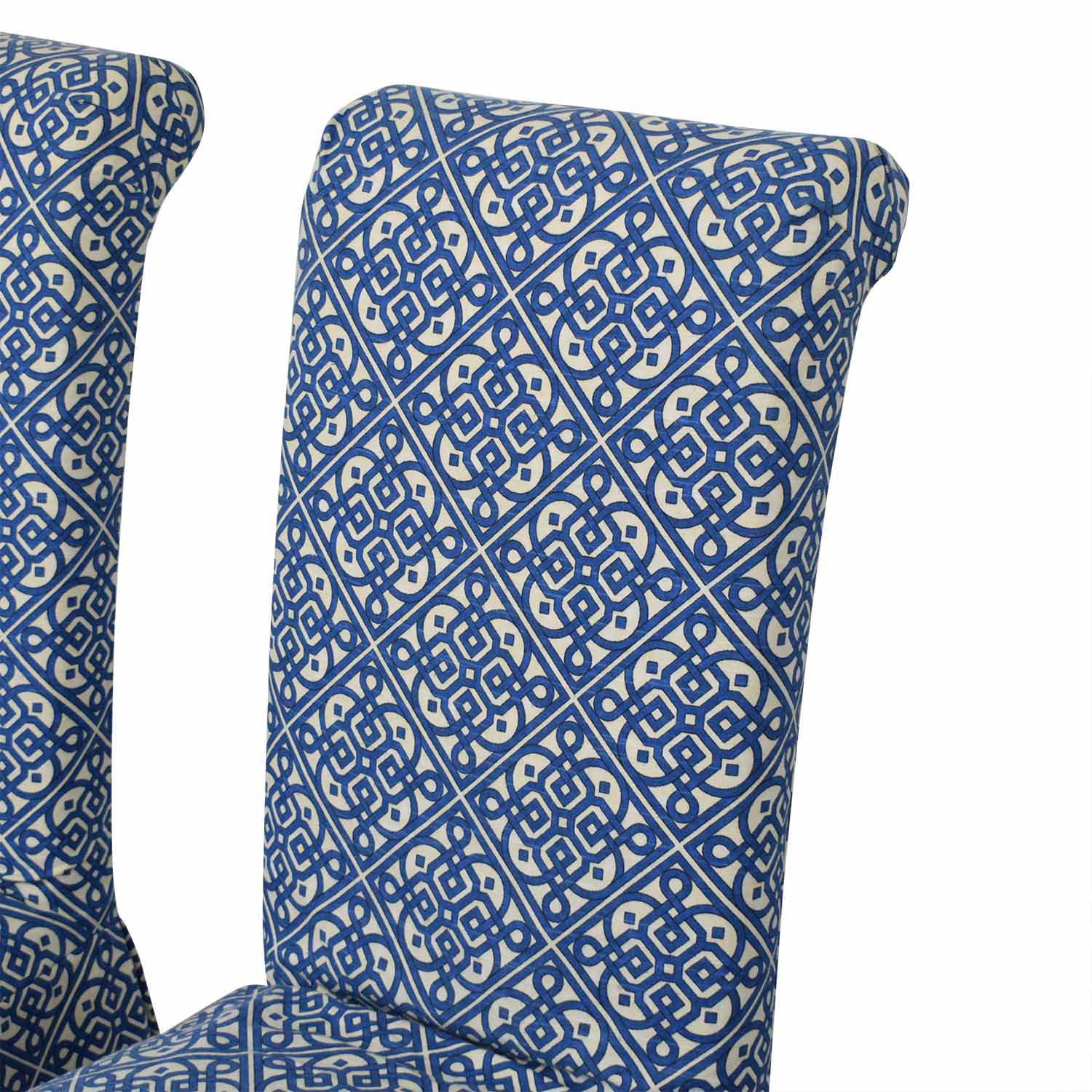 Parsons Custom Slipcovered Dining Chairs sale