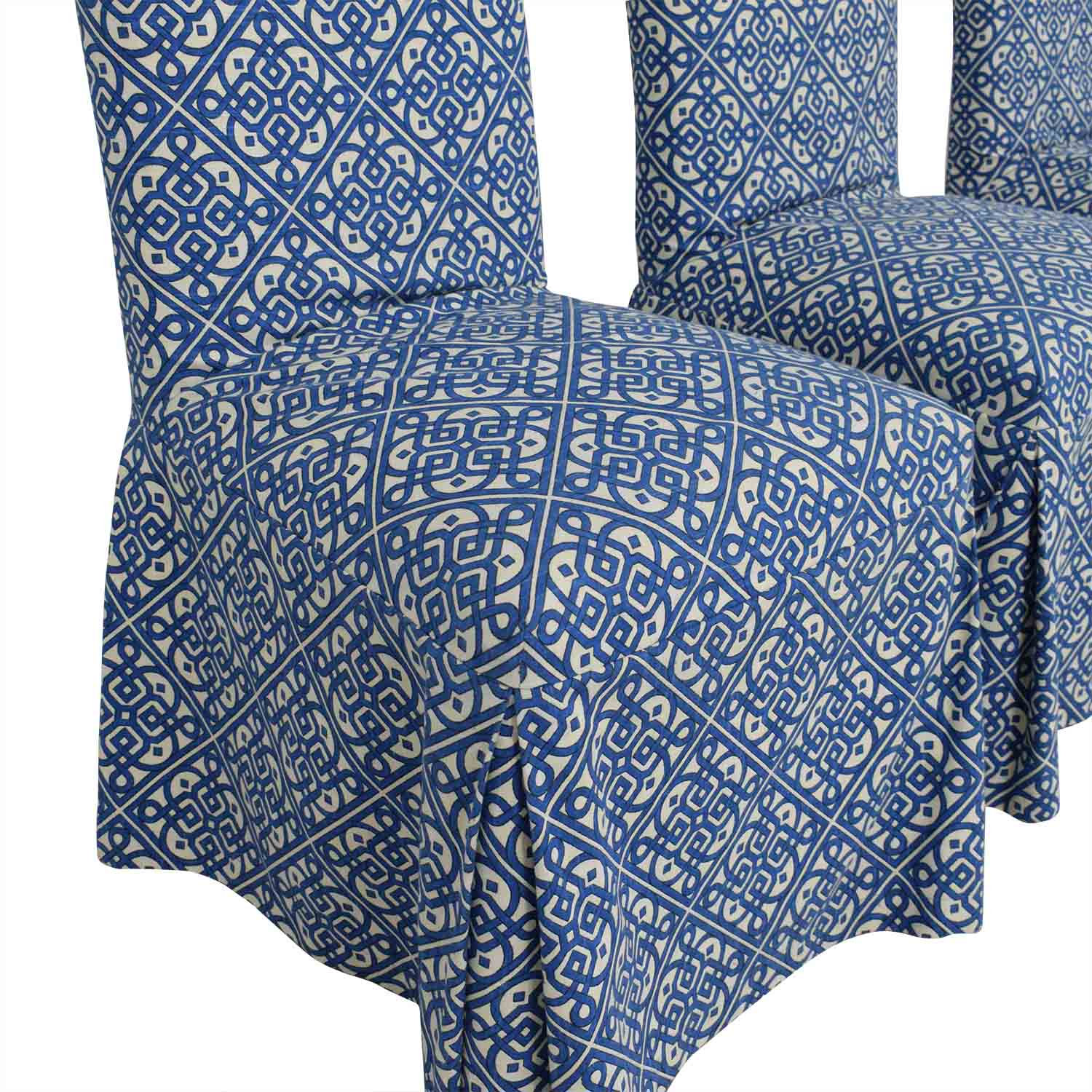 Parsons Custom Slipcovered Dining Chairs / Chairs