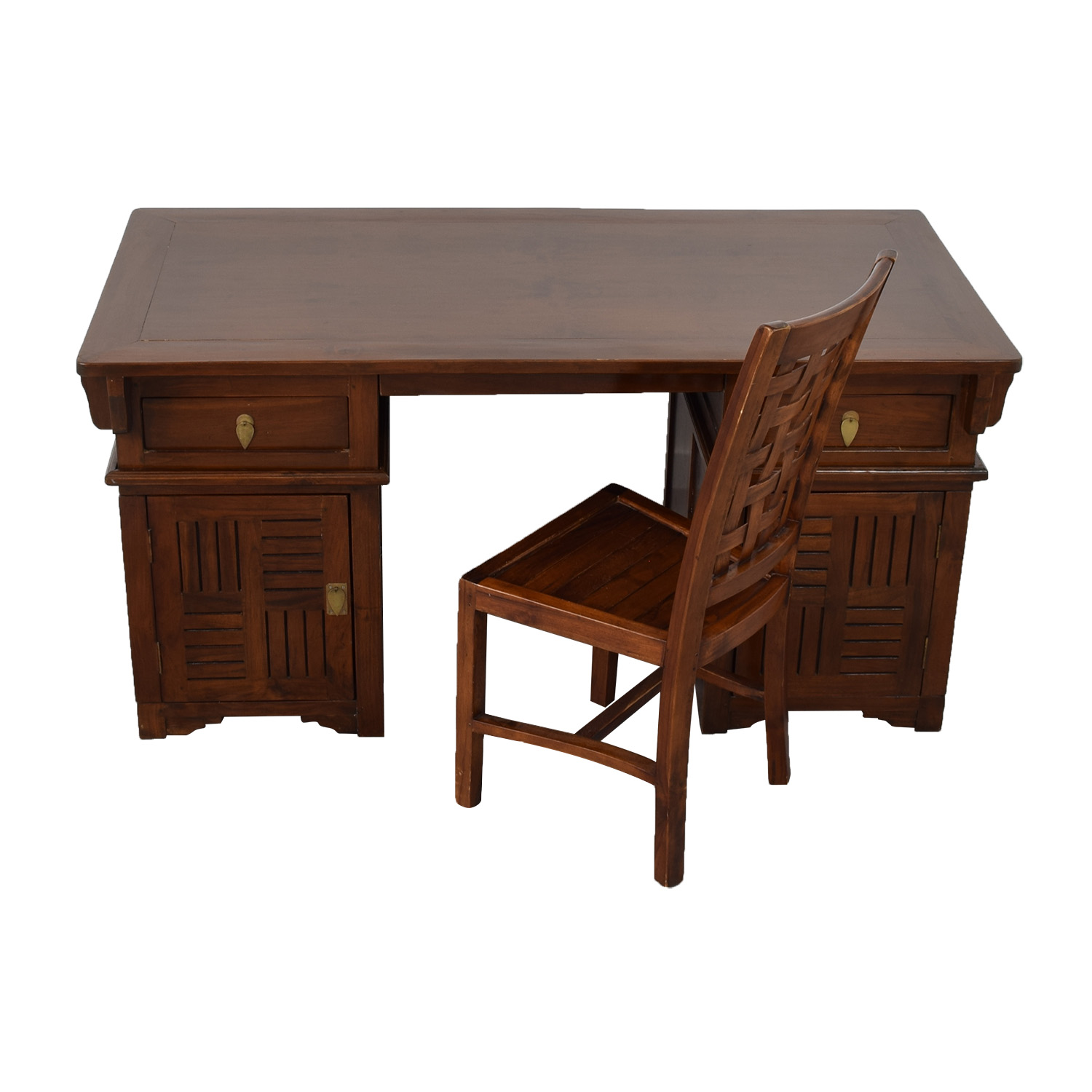 Antique study desk antique furniture for Antique furniture desk