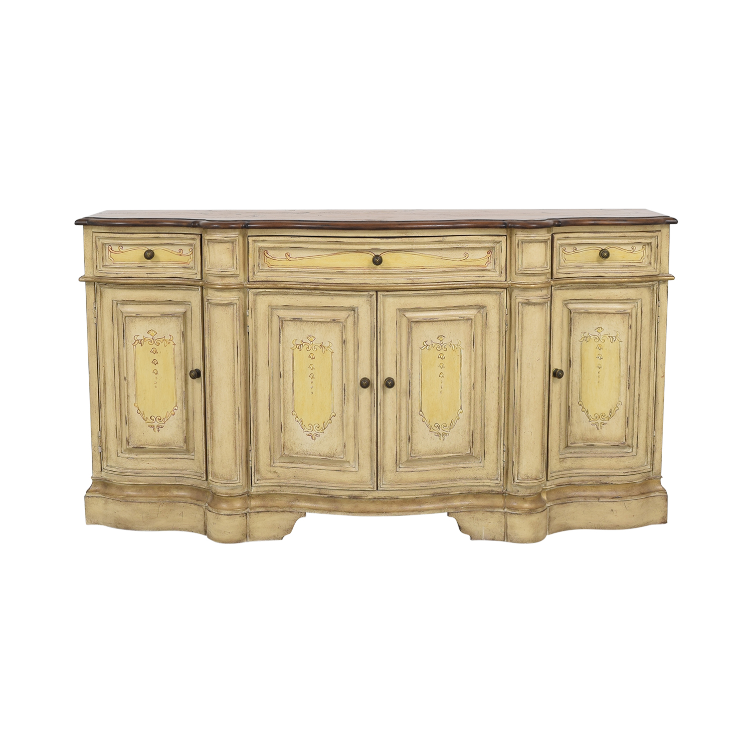 shop Stanley Furniture Country French Buffet Stanley Furniture Cabinets & Sideboards
