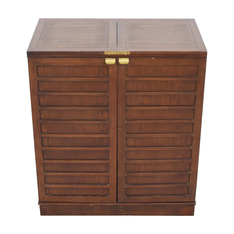 Crate & Barrel Crate & Barrel Bar Cabinet coupon