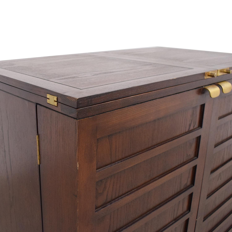 Crate & Barrel Bar Cabinet / Storage