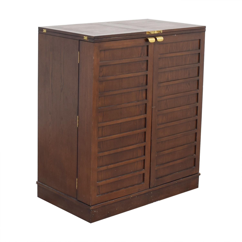 Crate & Barrel Crate & Barrel Bar Cabinet ma