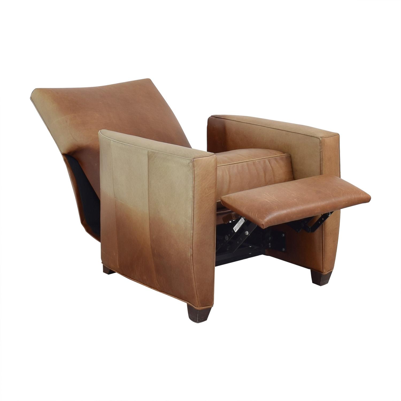 Crate & Barrel Crate & Barrel Reclining Club Chair nj