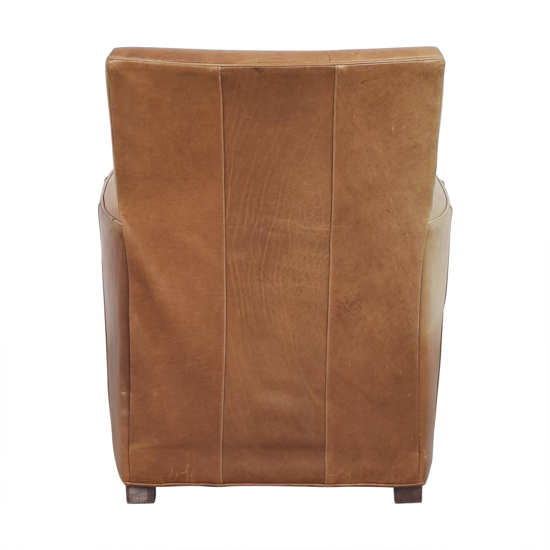 Crate & Barrel Crate & Barrel Reclining Club Chair ct