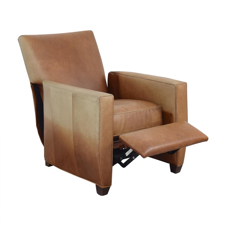 Crate & Barrel Crate & Barrel Reclining Club Chair nyc