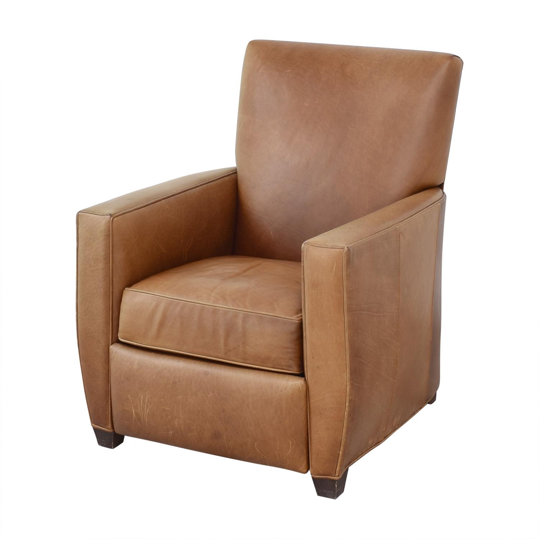 Crate & Barrel Crate & Barrel Reclining Club Chair on sale