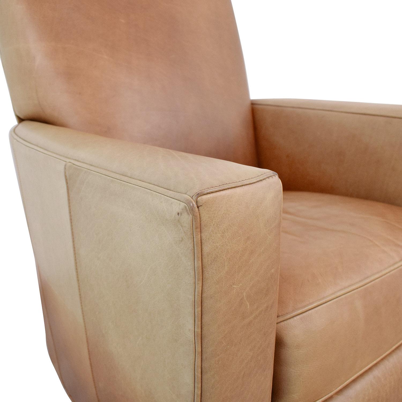 shop Crate & Barrel Crate & Barrel Reclining Club Chair online
