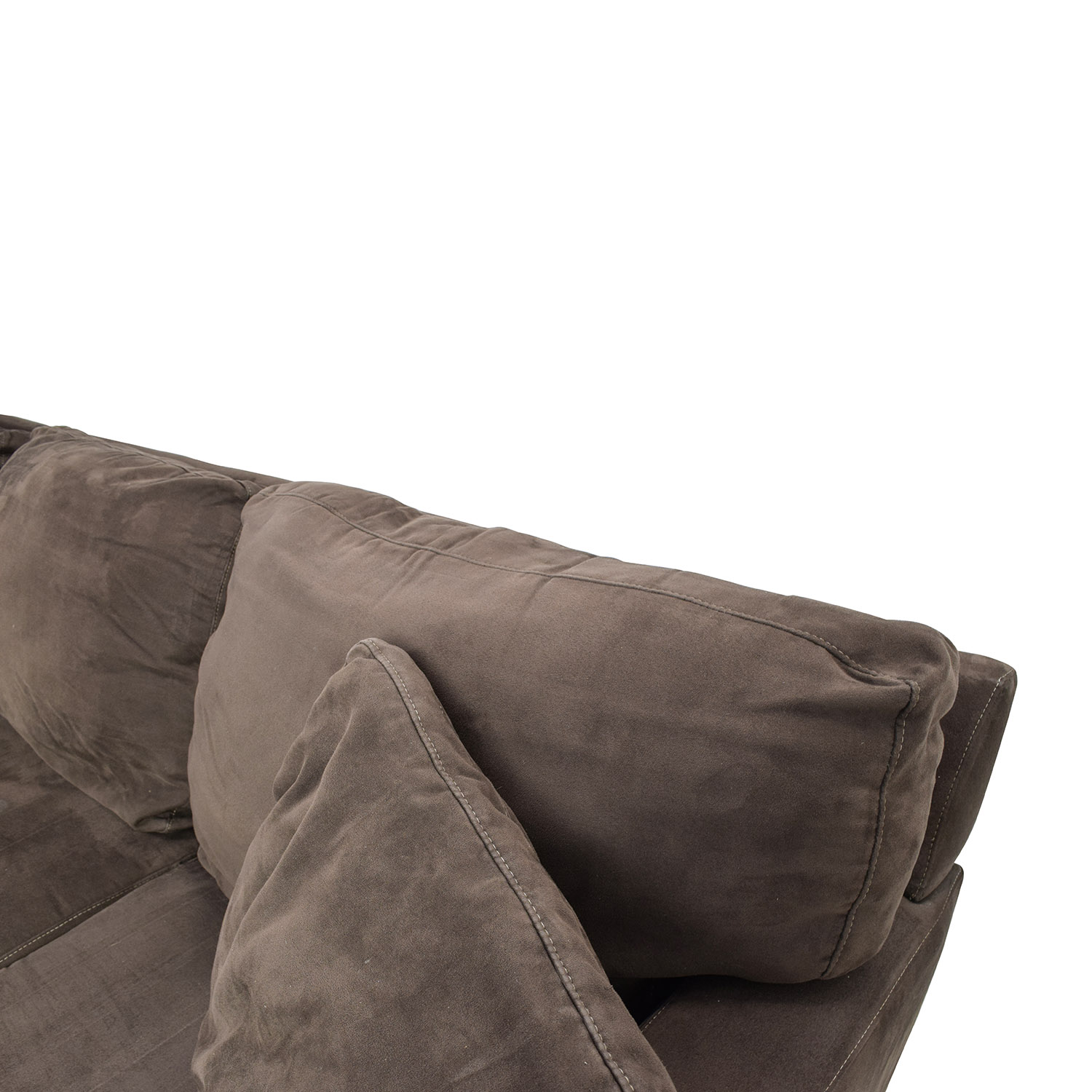 Exceptionnel ... Buy Cindy Crawford Bailey Microfiber Chaise Sofa Cindy Crawford Home  Sectionals ...