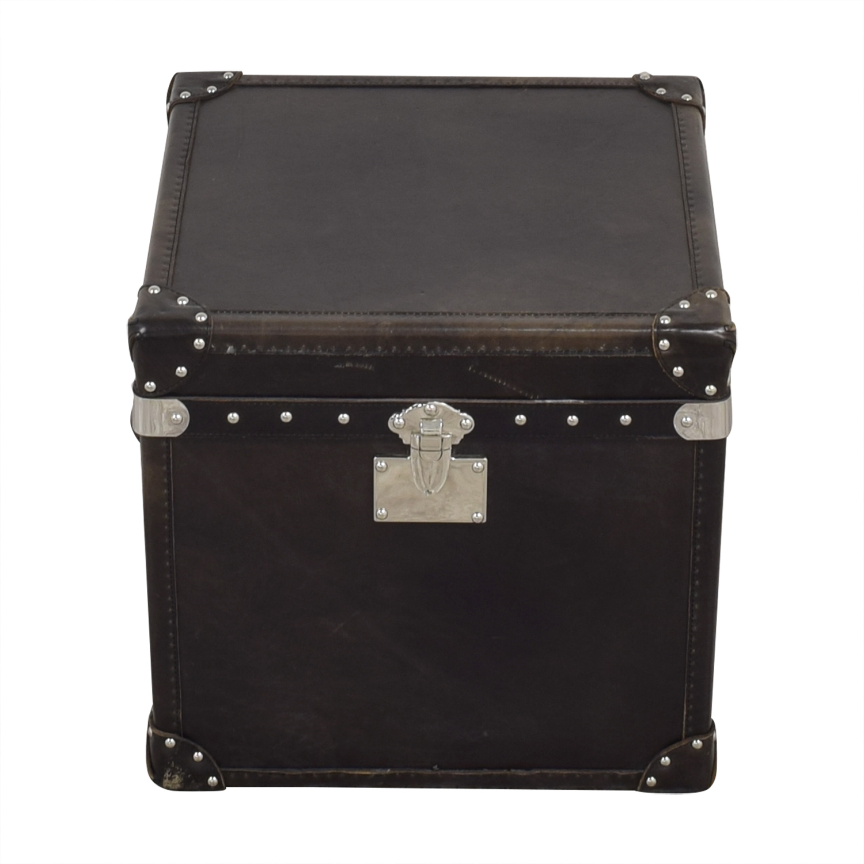 Restoration Hardware Restoration Hardware Steamer Trunk Cube discount