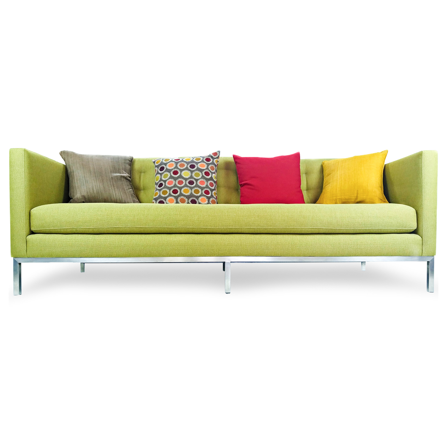 Max Home Furniture Macy's Chloe Tufted Sofa / Sofas