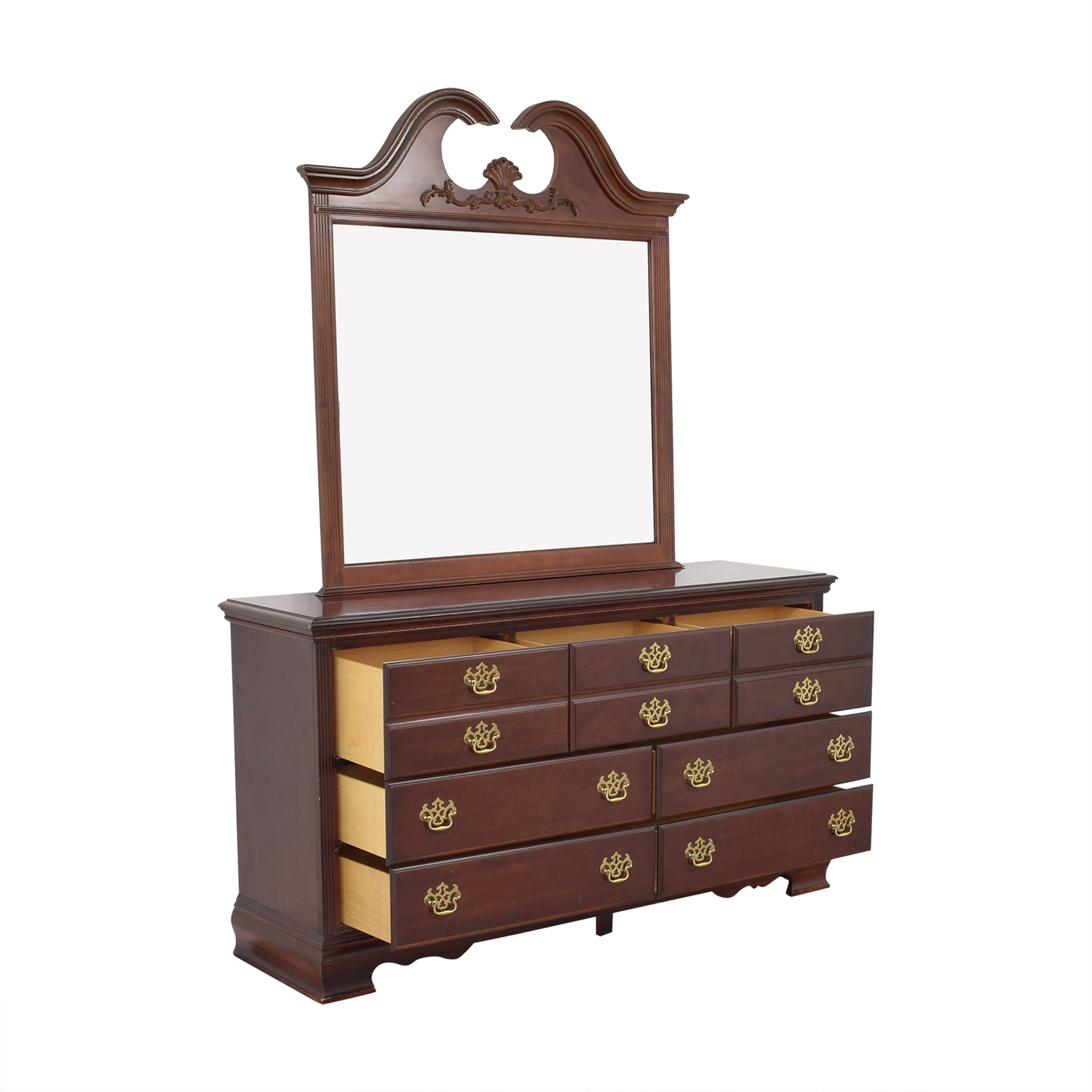 shop American Drew Triple Dresser and Mirror American Drew Storage
