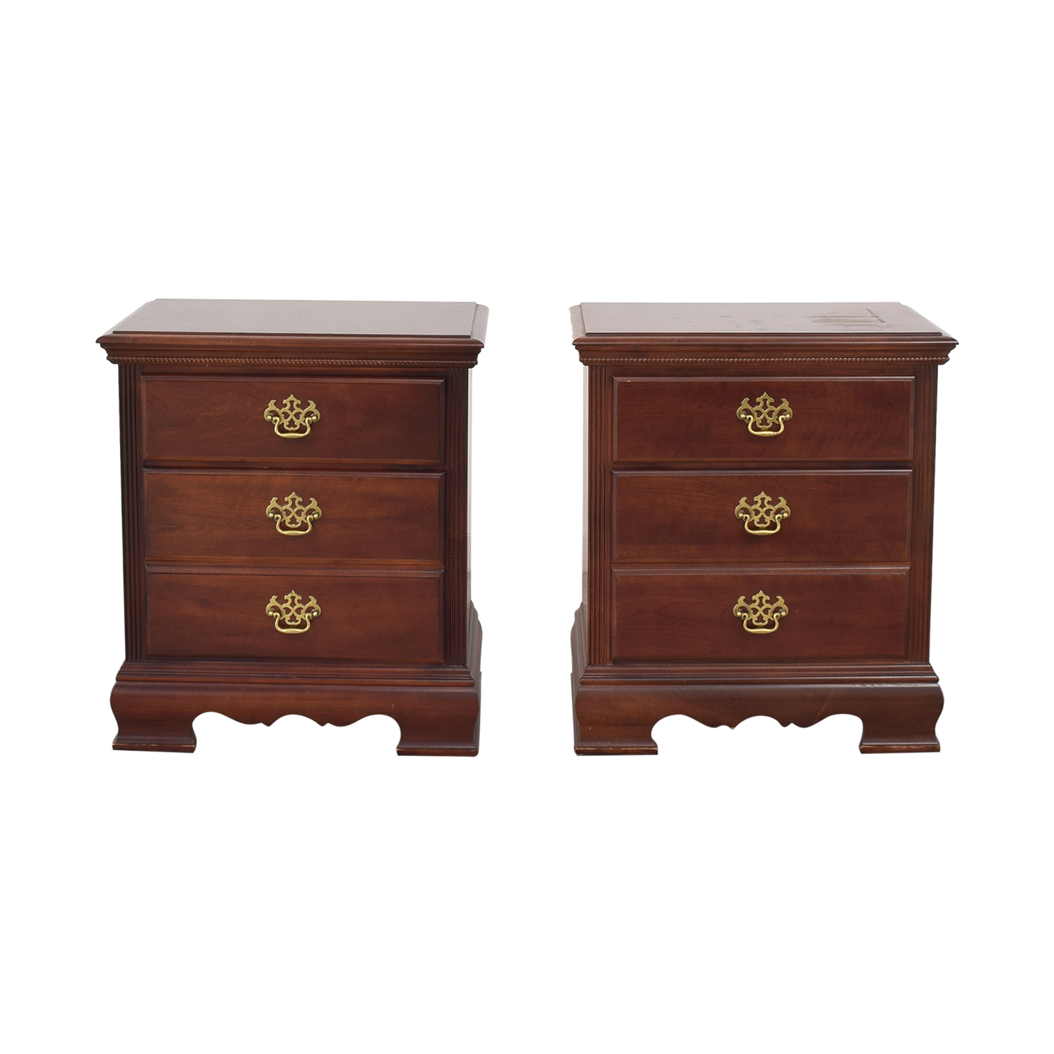 shop American Drew Queen Anne Style Nightstand Tables American Drew Tables