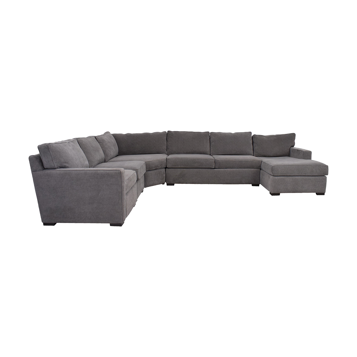 buy Macy's Radley Fabric 6-Piece Chaise Sectional Sofa with Corner Piece and Ottoman Macy's Sectionals